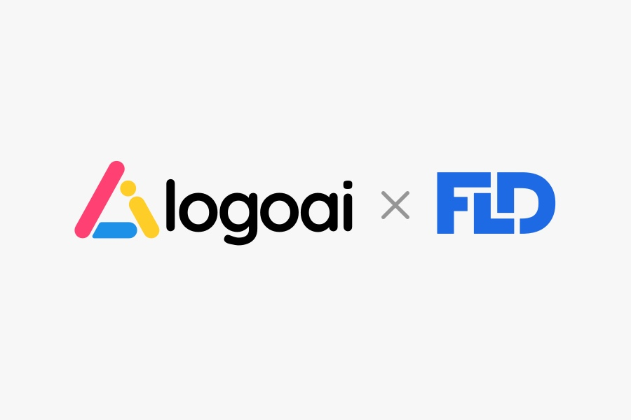 LogoAi partner with FLD for custom logo design