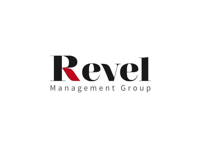 Revel logo design