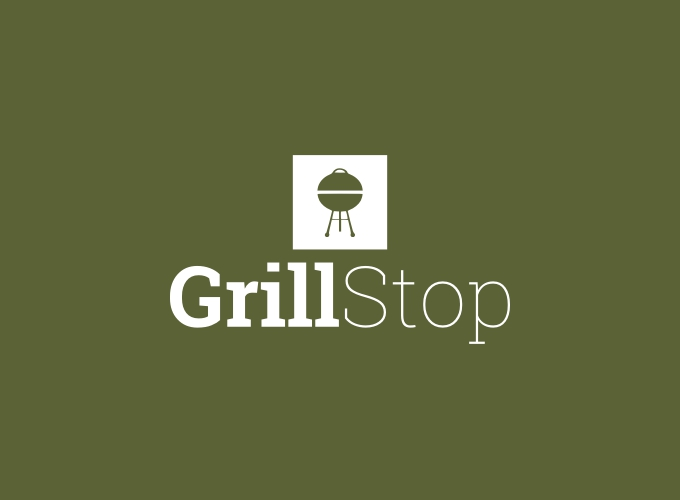 Grill Stop logo design