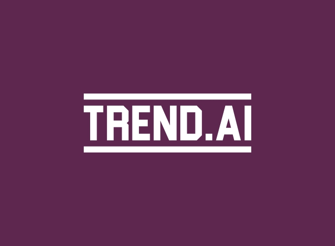 trend.ai logo design