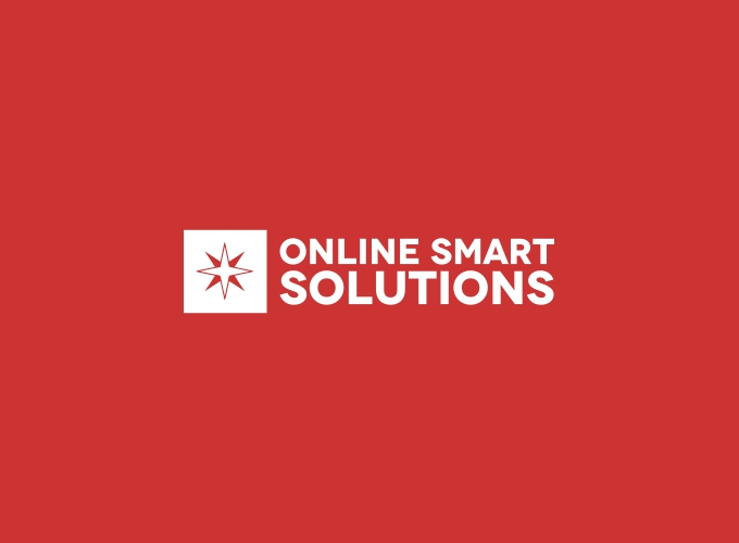 online smart solutions logo design
