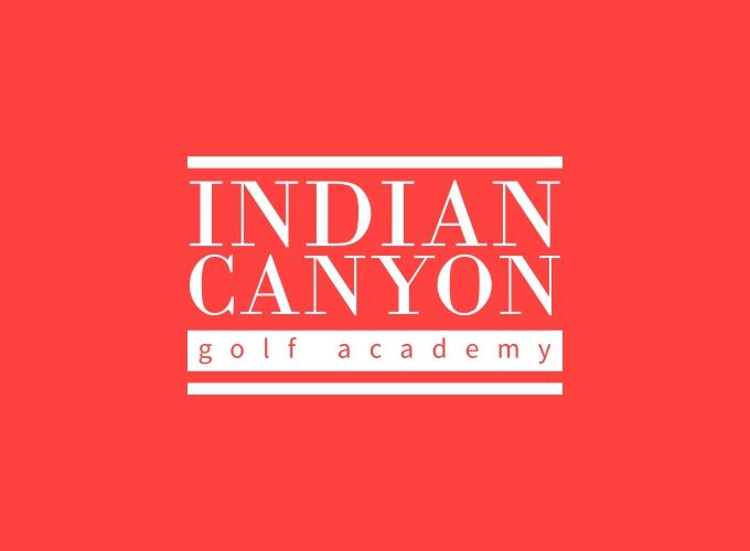 Indian canyon logo design