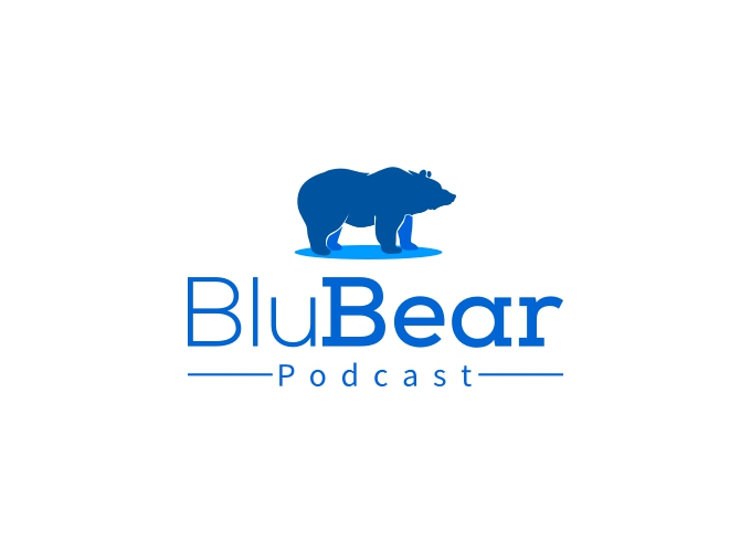 Blu Bear logo design