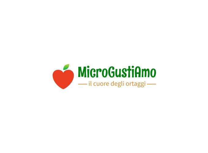 MicroGustiAmo logo design