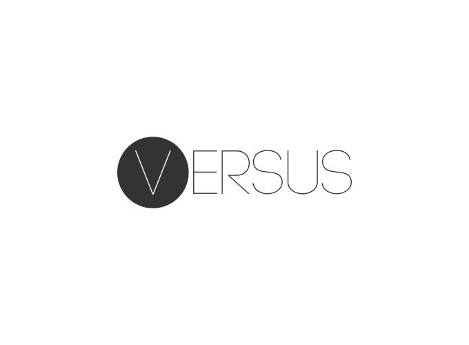 versus logo design