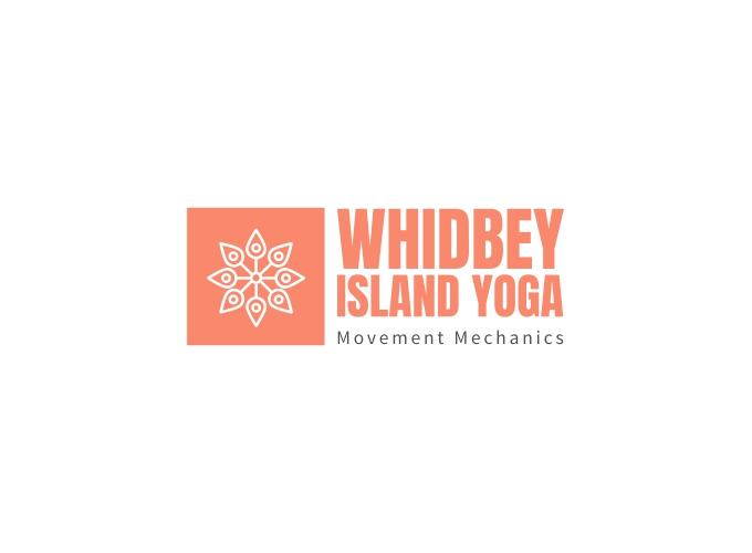 Whidbey Island Yoga logo design