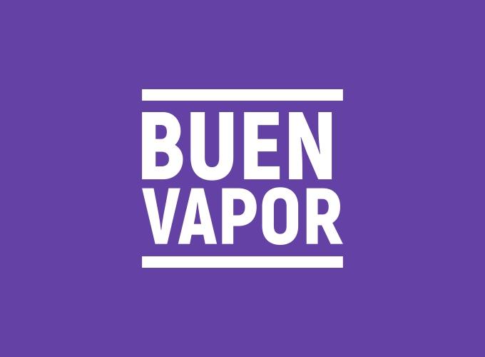Buen Vapor logo design