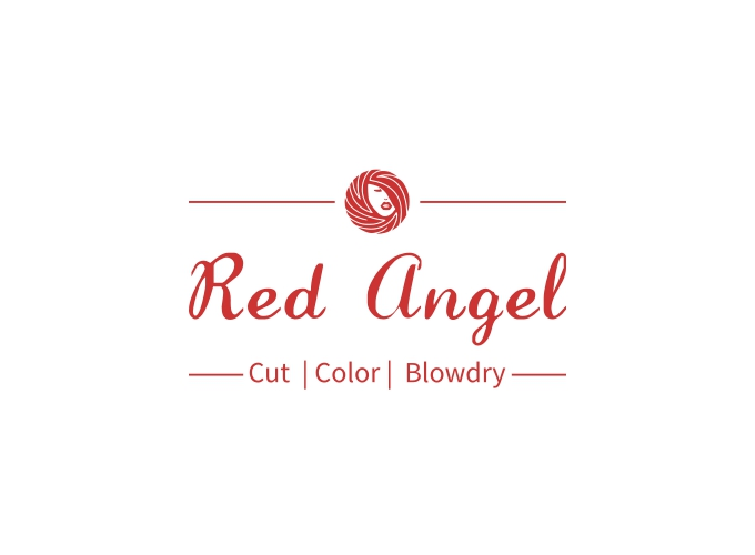 Red Angel logo design