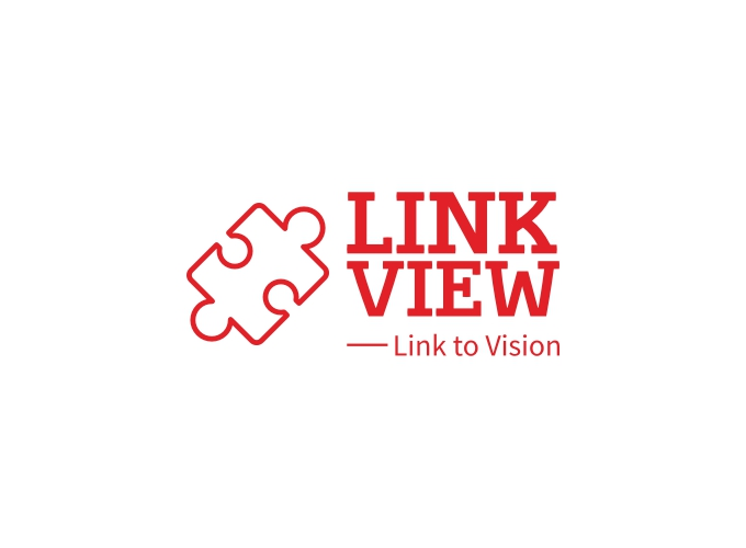 link view logo design