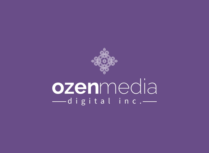 ozen media logo design