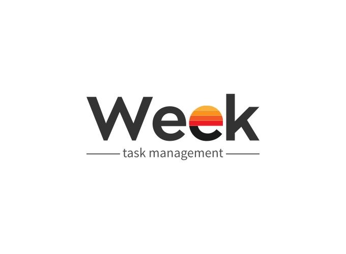 Week logo design