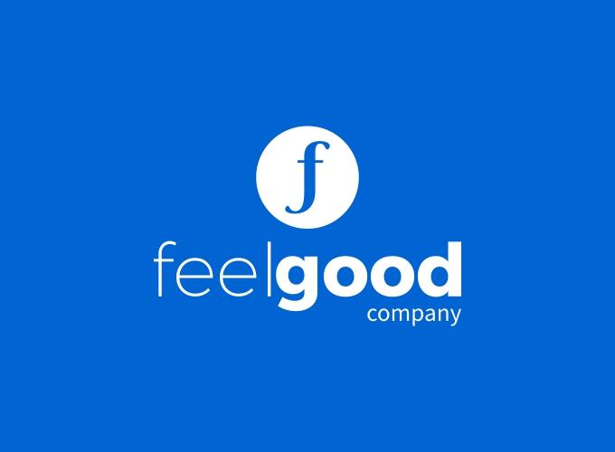 feel good logo design