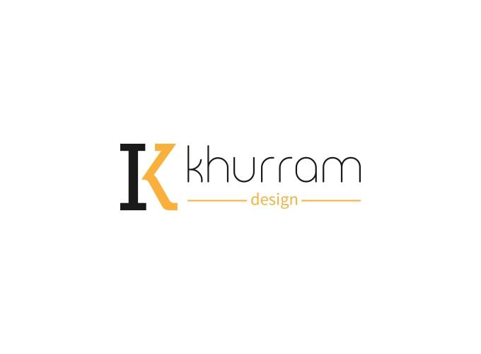 khurram logo design
