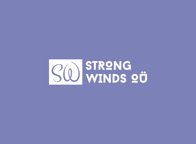 Strong Winds OÜ logo design