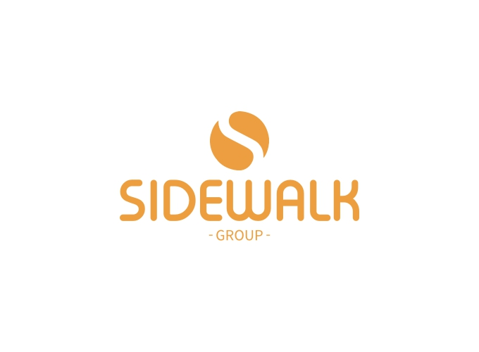 SIDEWALK logo design