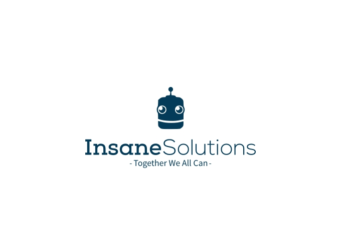 Insane Solutions logo design