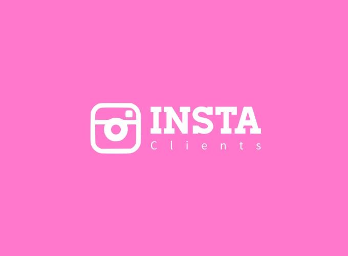 INSTA logo design