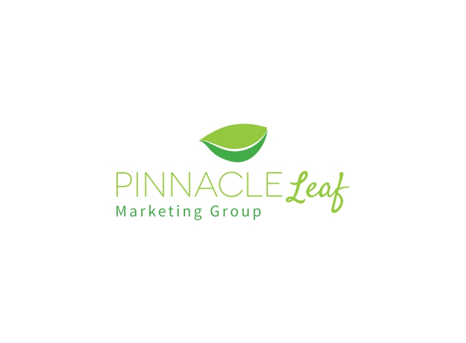 Pinnacle Leaf logo design