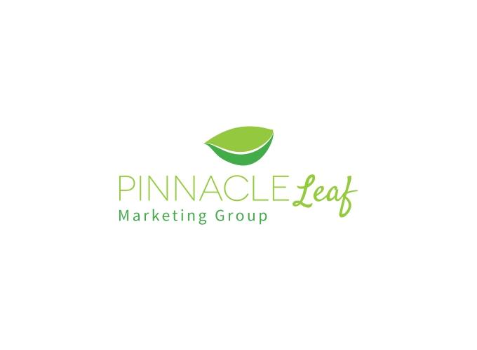 Pinnacle Leaf logo design