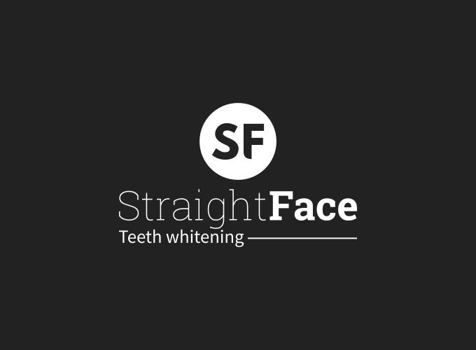 Straight Face logo design