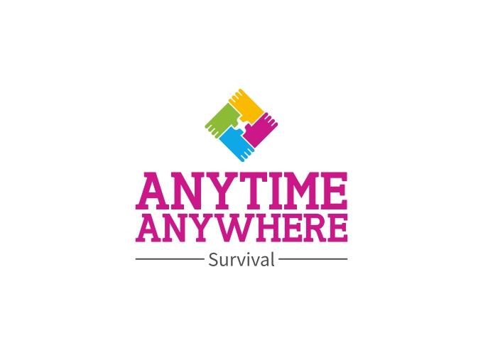 Anytime Anywhere logo design