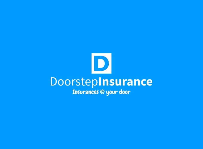 Doorstep Insurance logo design