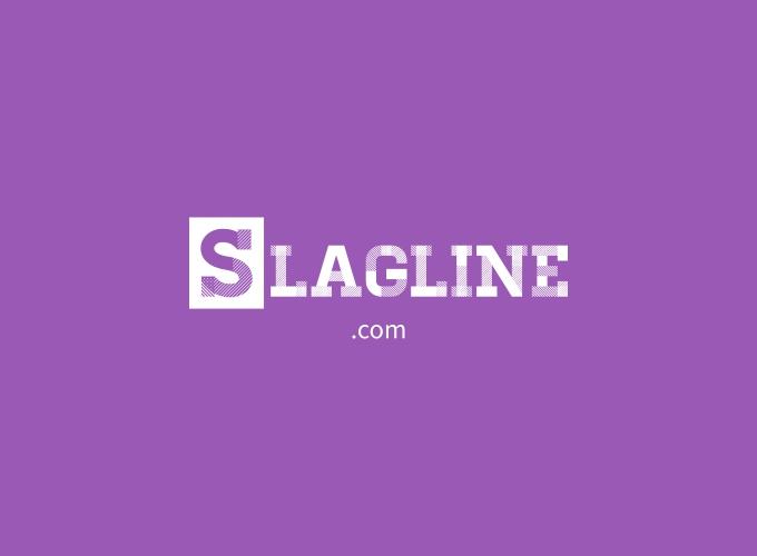 slagline logo design