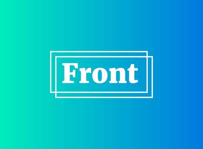 Front logo design