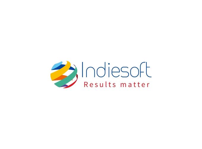 Indiesoft logo design