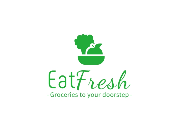 Eat Fresh logo design