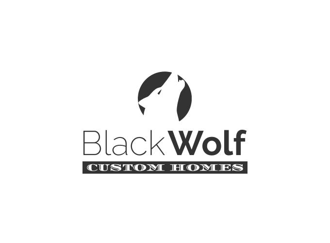 Black Wolf logo design