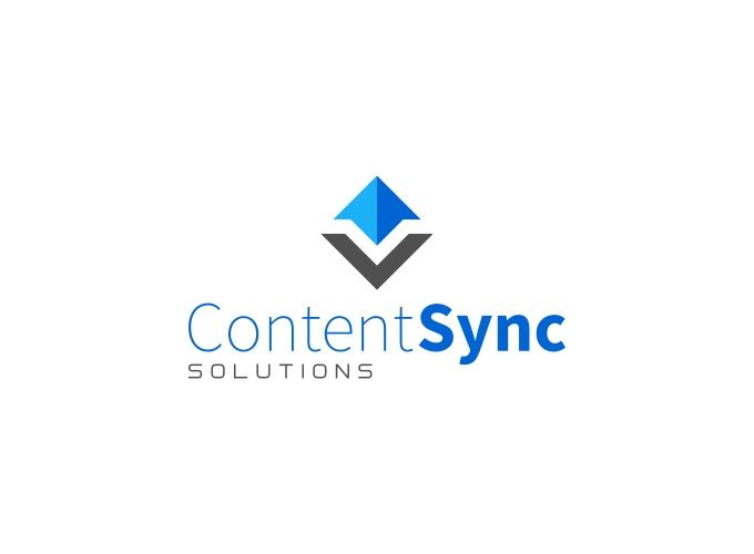 Content Sync logo design