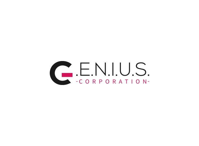 .E.N.I.U.S. logo design