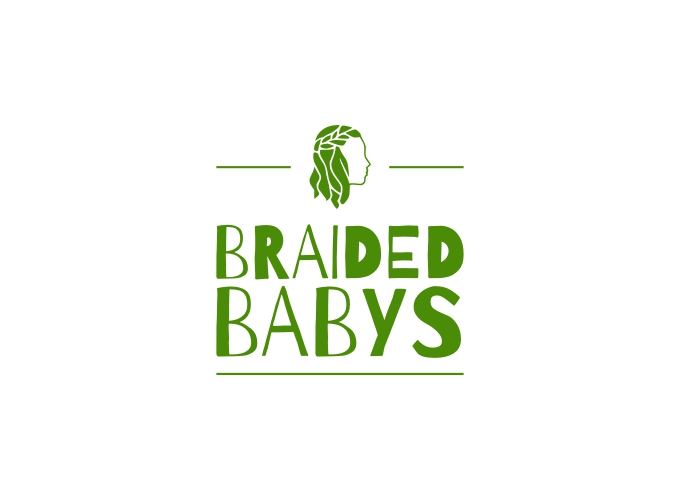 Braided Babys logo design