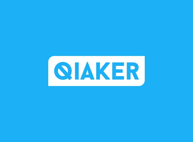 Qiaker logo design