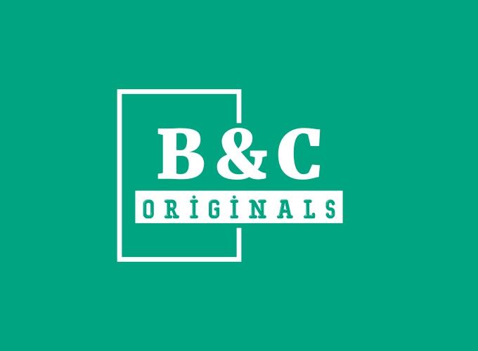 B&C logo design