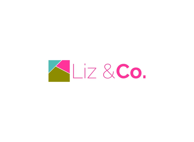 Liz & Co. logo design