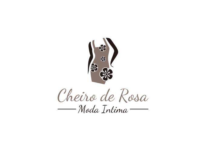 Cheiro de Rosa logo design