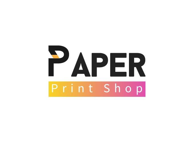 Paper logo design