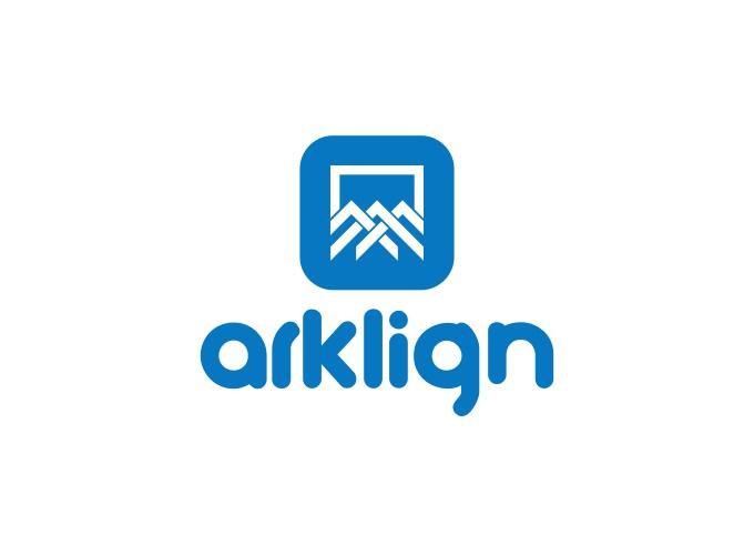 Arklign logo design