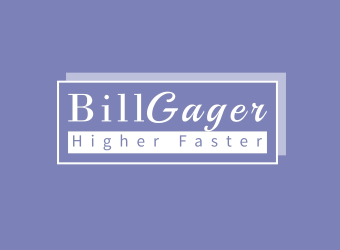 Bill Gager logo design