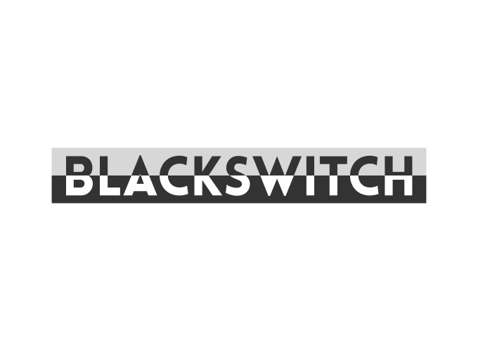 BlackSwitch logo design