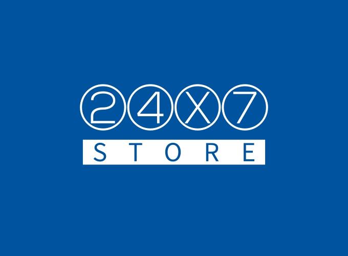 24X7 logo design