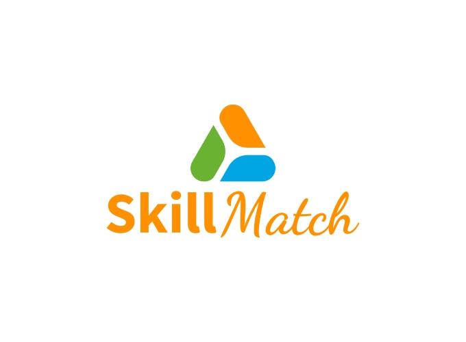 Skill Match logo design