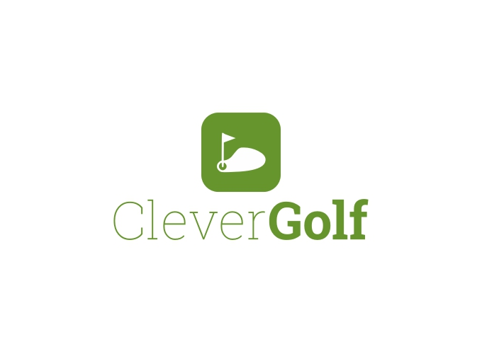 Clever Golf logo design