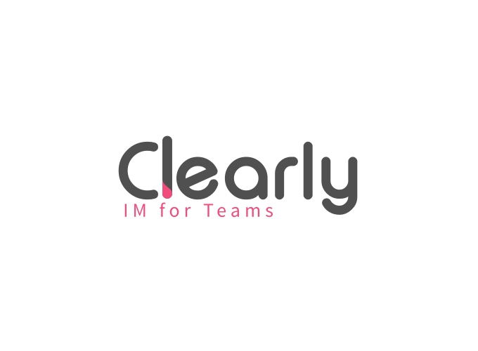 Clearly logo design
