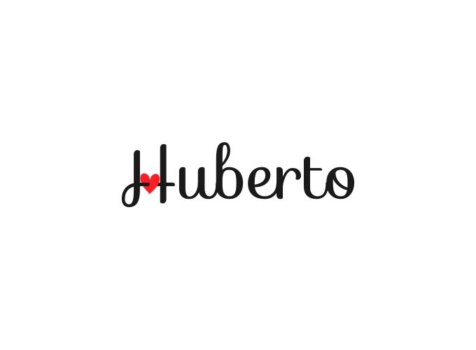 Huberto logo design