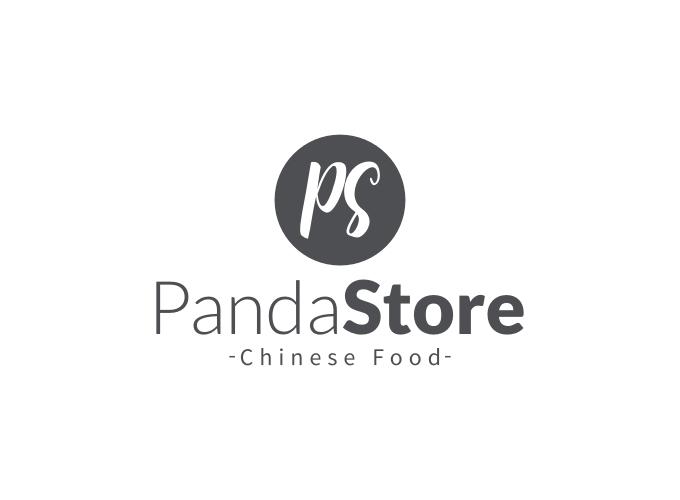 Panda Store logo design