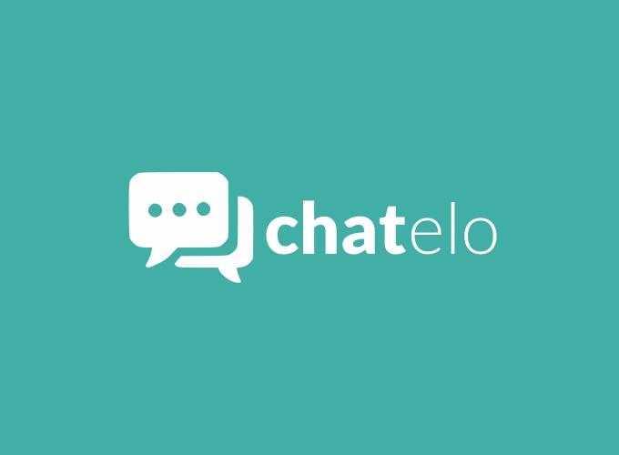 chat elo logo design