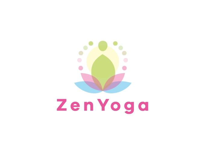 ZenYoga logo design